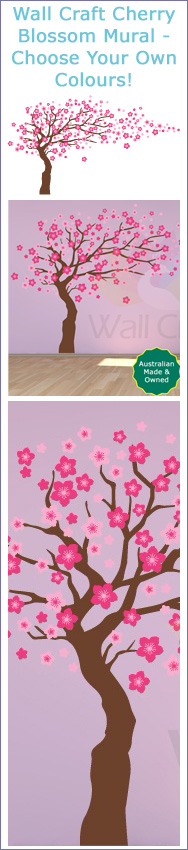 Click here to view the Wall Craft Cherry Blossom Mural